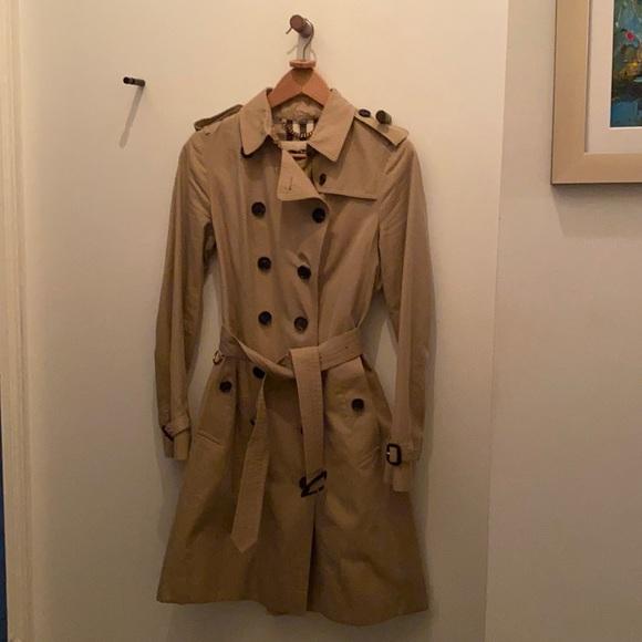 Burberry Sandringham Long Trench Coat
